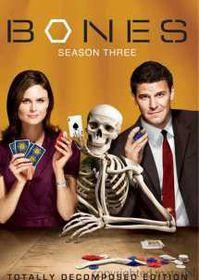 Bones Season 3 (DVD)