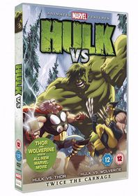 Hulk vs. Wolverine / Hulk vs. Thor  - (Import DVD)