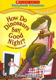 How Do Dinosaurs Say Goodnight - (Region 1 Import DVD)