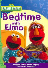 Bedtime with Elmo - (Region 1 Import DVD)