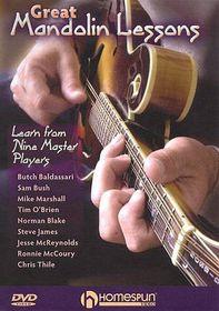 Great Mandolin Lessons - (Region 1 Import DVD)