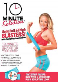 10 Minute Solution:Belly Butt and Thi - (Region 1 Import DVD)