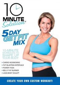 10 Minute Solution:Five Day Get Fit M - (Region 1 Import DVD)