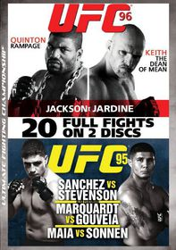 UFC 95 & 96 - (Region 1 Import DVD)