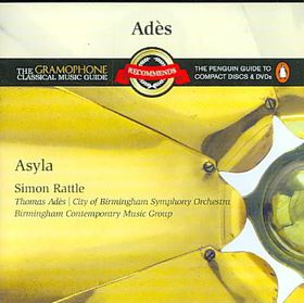 Rattle & Cbso - Recommends Ades: Asyla (CD)