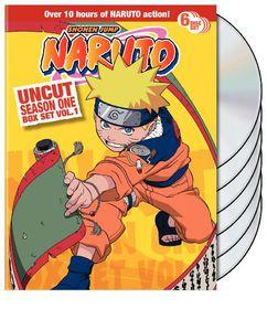 Naruto Uncut Ssn1 Box Set V1 - (Region 1 Import DVD)