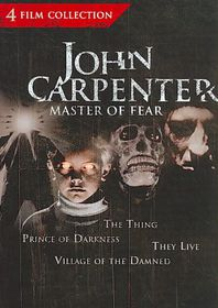 John Carpenter Master of Fear Collect - (Region 1 Import DVD)