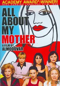 All About My Mother - (Region 1 Import DVD)