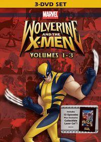 Wolverine and the X Men Vol 1-3 - (Region 1 Import DVD)