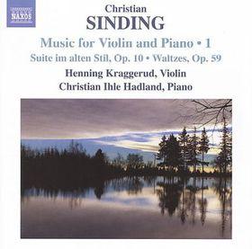 Sinding: Violin & Piano Music Vol 1 - Violin And Piano Music - Vol.1 (CD)
