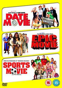 Date Movie / Epic Movie / Sports Movie - (Import DVD)