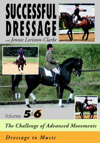 Successful Dressage With Jenny Loriston-Clarke: Volume 5-6 - (Import DVD)
