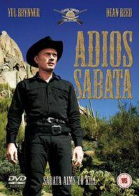 Adios Sabata - (Import DVD)