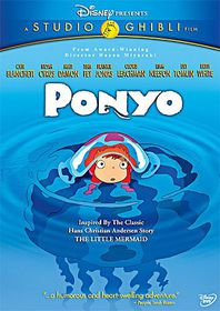 Ponyo - (Region 1 Import DVD)