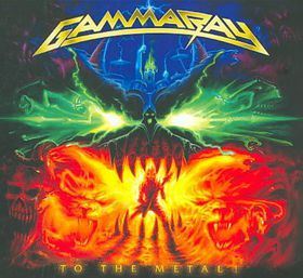 Gamma Ray - To The Metal (CD)