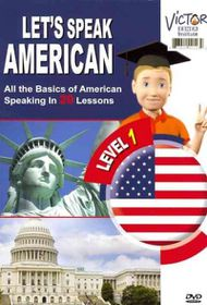 Let's Speak American with Victor - (Region 1 Import DVD)