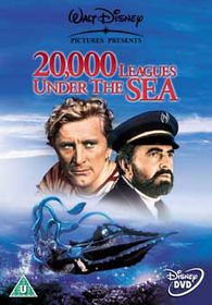 20,000 Leagues Under The Sea  (Import DVD)