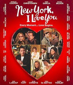 New York I Love You - (Region A Import Blu-ray Disc)