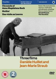 Three Films by Jean-Marie Straub and Daniele Huillet - (Import DVD)