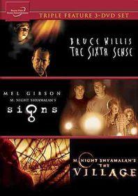 Signs/Village/Sixth Sense - (Region 1 Import DVD)