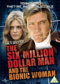 Return of The Six Million Dollar Man and The Bionic Woman - (Import DVD)