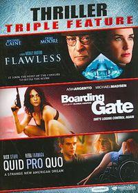 Thriller Triple Feature - (Region 1 Import DVD)