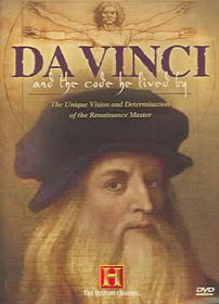 Da Vinci and the Code He Lived by - (Region 1 Import DVD)