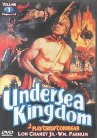 Undersea Kingdom Volume 1 - (Region 1 Import DVD)