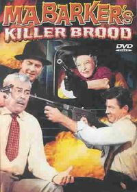 Ma Barker's Killer Brood - (Region 1 Import DVD)