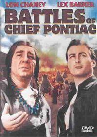 Battles of Chief Pontiac - (Region 1 Import DVD)