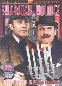 Sherlock Holmes:TV Classics Vol 4 - (Region 1 Import DVD)
