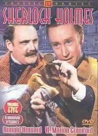 Sherlock Holmes:TV Classics Vol 5 - (Region 1 Import DVD)