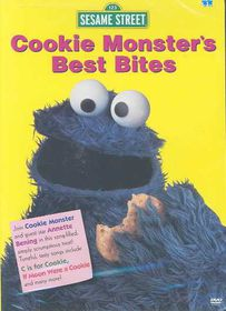 Cookie Monster's Best Bites - (Region 1 Import DVD)