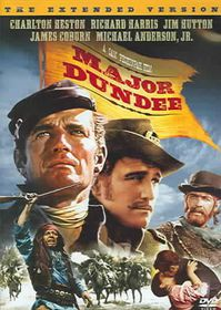 Major Dundee (Extended Cut) - (Region 1 Import DVD)