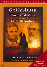 Gettysburg and Stories of Valor - (Region 1 Import DVD)
