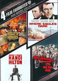 4 Film Favorites:War Heroes - (Region 1 Import DVD)
