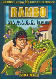 Rambo Vol 3:Savage Island - (Region 1 Import DVD)