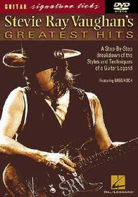 Stevie Ray Vaughan's Greatest Hits - (Region 1 Import DVD)