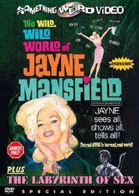 Wild Wild World of Jayne Mansfield - (Region 1 Import DVD)
