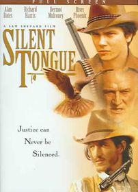 Silent Tongue - (Region 1 Import DVD)