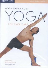 Yoga for Back Care - (Region 1 Import DVD)