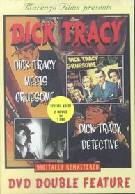 Dick Tracy Detective/Meets Gruesome - (Region 1 Import DVD)