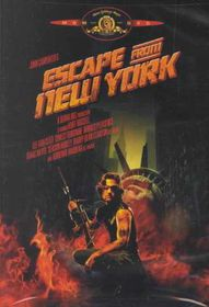 Escape from New York - (Region 1 Import DVD)
