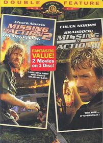 Missing in Action 2 & 3 - (Region 1 Import DVD)