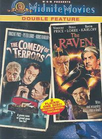 Comedy of Terrors/Raven - (Region 1 Import DVD)