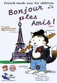Bonjour Les Amis Vol 1 - (Region 1 Import DVD)