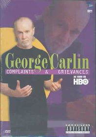 George Carlin: Complaints And Grievances - (Region 1 Import DVD)