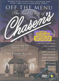 Off the Menu:Lastdays of Chasen' - (Region 1 Import DVD)