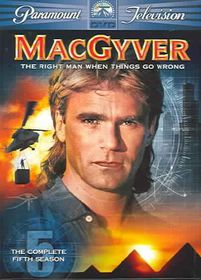 Macgyver:Complete Fifth Season - (Region 1 Import DVD)