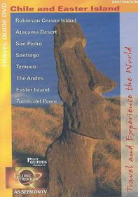 Chile and Easter Island - (Region 1 Import DVD)